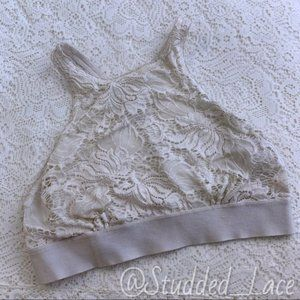 Urban Outfitters White Halter Top Bralette
